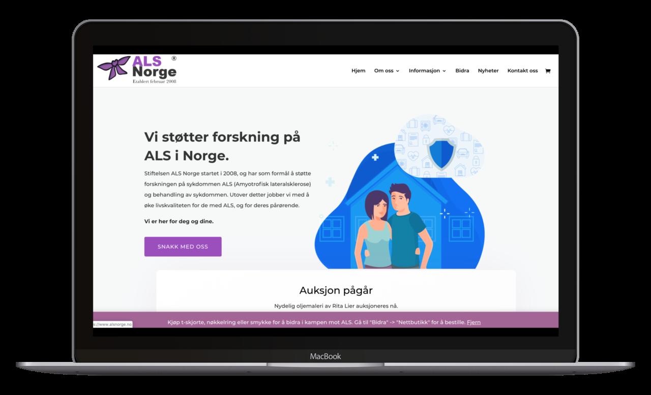 ALS Norge mockup